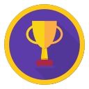 achievement, best, reward, trophy, win icon