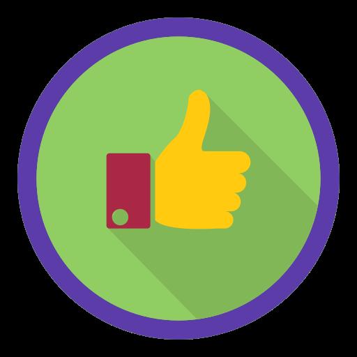 favorites, like, rating icon