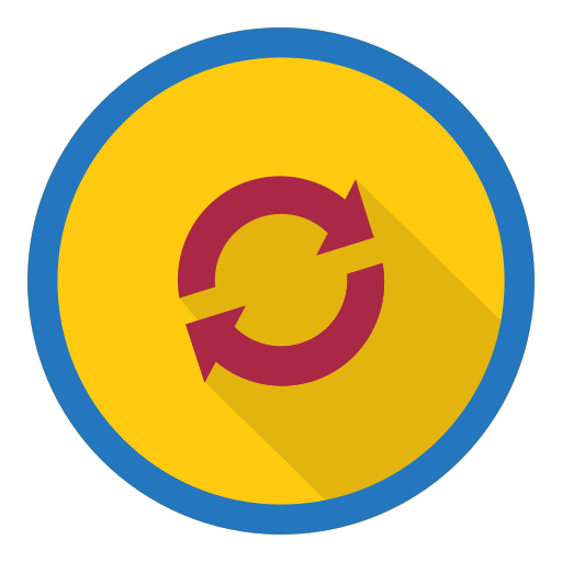 recycle, refresh, reload, remove, synchronize icon