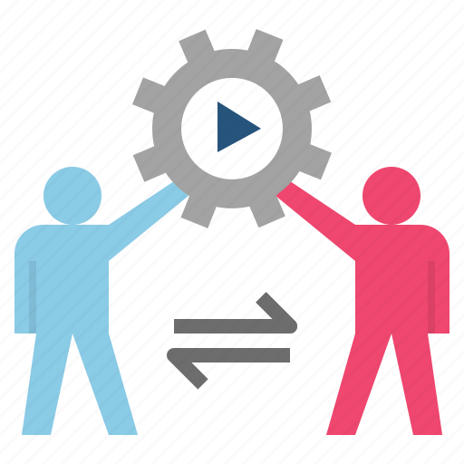 collaborate, cooperation, partner, shareholder, teamwork icon