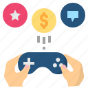 entertainment, game, gamification, gamify, play icon