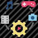 application, business, entertainment, media, technology