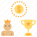 bonus, champion, reward, trophy, winner