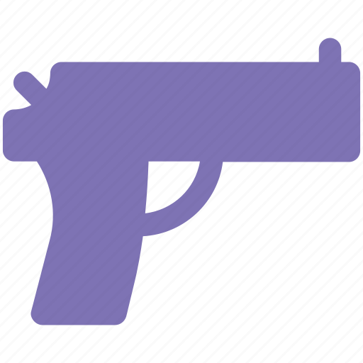 aim, game, gaming, gun, pistol, target, weapon icon icon