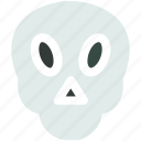 danger, death, skull icon icon