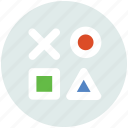 baby, blocks, puzzle, toy icon icon
