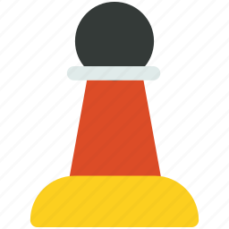 chess, game, pawn icon icon