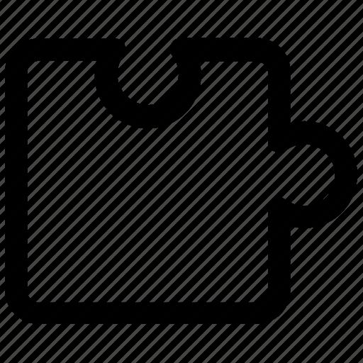 piece, puzzle, puzzle piece icon icon