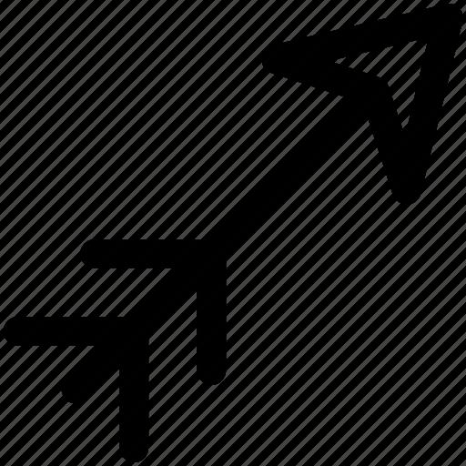 arrow, fun, game, minecraft, play icon icon