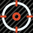 entertainment, game, multimedia, play, target icon icon