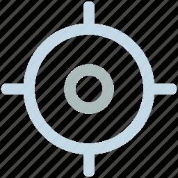 market, target, weapon icon icon