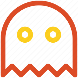 game, ghost, pacman icon icon