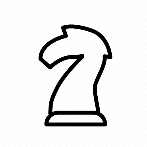 chess, entertainment, freetime, fun, gaming, knight, patience icon