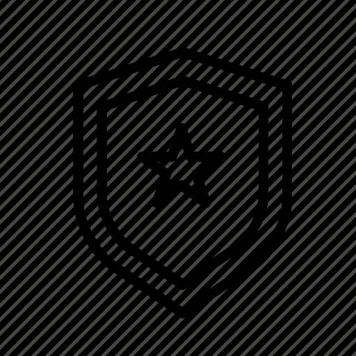 entertainment, freetime, fun, gaming, protection, securitystar, shield icon