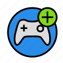 add, entertainment, freetime, fun, game, gaming icon