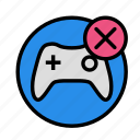cancel, entertainment, freetime, fun, game, gaming icon