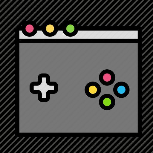 browser, entertainment, freetime, fun, game, gaming icon