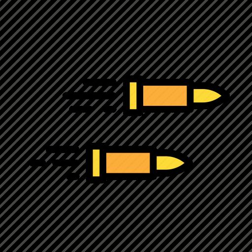 bullets, entertainment, freetime, fun, gaming icon