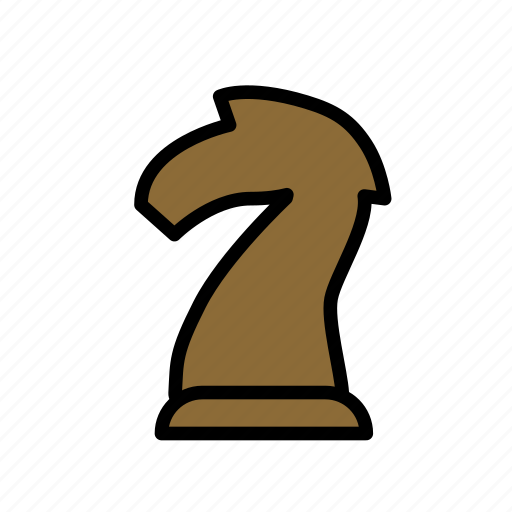 chess, entertainment, freetime, gaming, knight, patience, piece icon