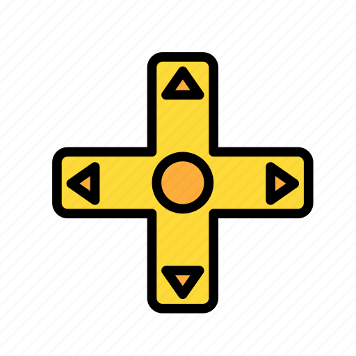 crossbutton, entertainment, freetime, fun, gaming icon