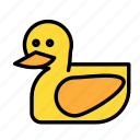 duck, entertainment, freetime, fun, gaming icon