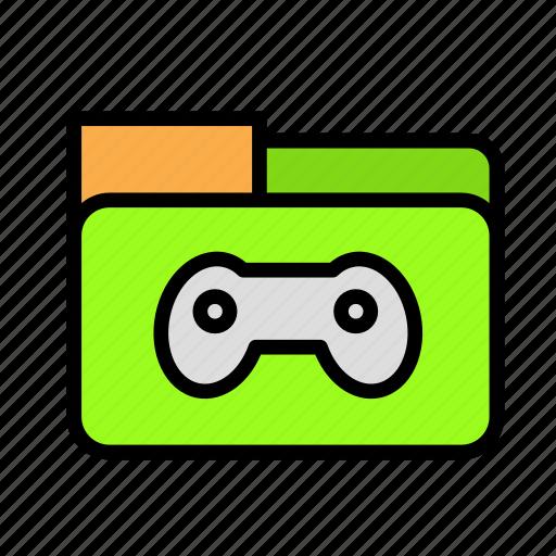 entertainment, freetime, fun, gaming, joystickfolder icon