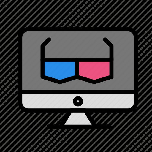 entertainment, freetime, fun, gaming, mac, move icon
