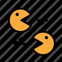 entertainment, freetime, fun, gaming, pacman3 icon