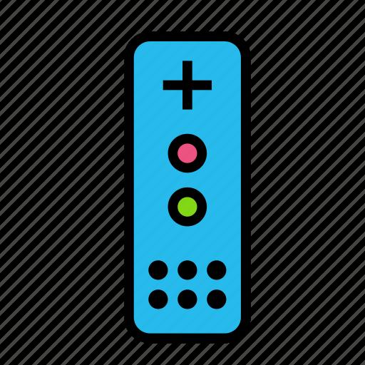entertainment, freetime, fun, gaming, remote icon