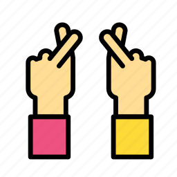 entertainment, freetime, gesture, hand, paper, rock, scissors icon