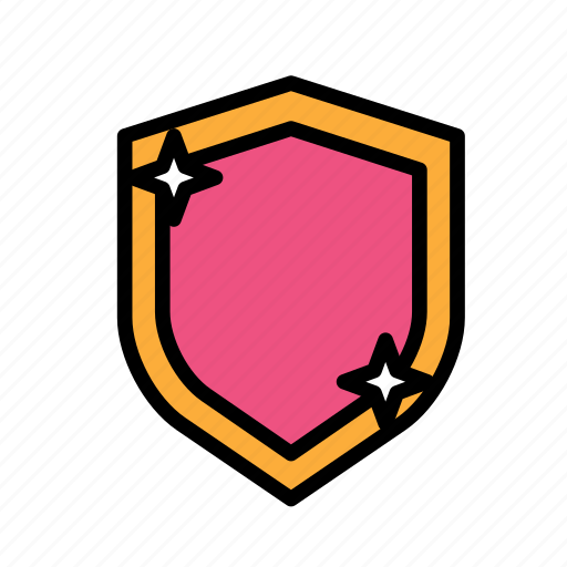 entertainment, freetime, fun, gaming, protection, securitygloss, shield icon