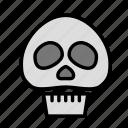 entertainment, freetime, fun, gaming, skull icon