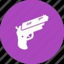 bullet, gun, handgun, pistol, shot, sniper, target