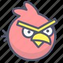 angrybirds, arcade, bird, game, mobile