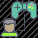 controller, game, joystick, profile, user
