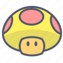 arcade, enemy, game, mario, mushroom icon