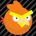 angrybirds, arcade, bird, game, mobile icon