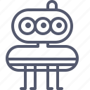 alien, creature, game, robot, space, ufo icon