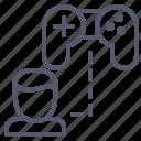 controller, game, joystick, profile, user icon