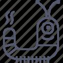 alien, character, enemy, robot, space, worm