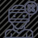cancel, deny, refuse, vr, xmark icon