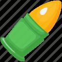 shot, ammunition, bullet, gaming, weapon, gun, game icon