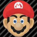 character, game, mario, mascot, nintendo, super mario