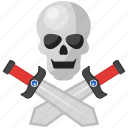 blade, game, knife, pirates, roger, skull, sword icon