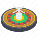 casino wheel, fortune wheel, gambling, poker, roulette wheel, spinning wheel icon