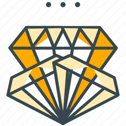 diamond, game, gem, gems, jackpot, jewel, treasure icon