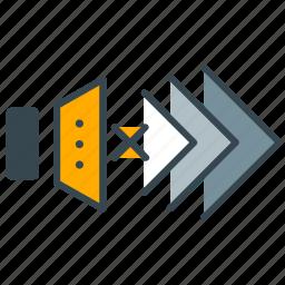 game, gaming, mute, sound, speaker, volume icon