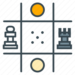 check, checkmate, chequer, chess, chessboard, game, strategy icon