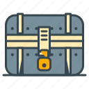 box, chest, game, gaming, treasure, trove, vault icon