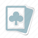 card, casino, chess, clover, game, gamepad, gaming icon